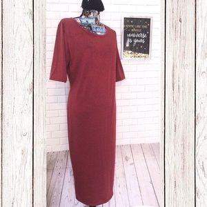 Lularoe Julia Dress /XL red